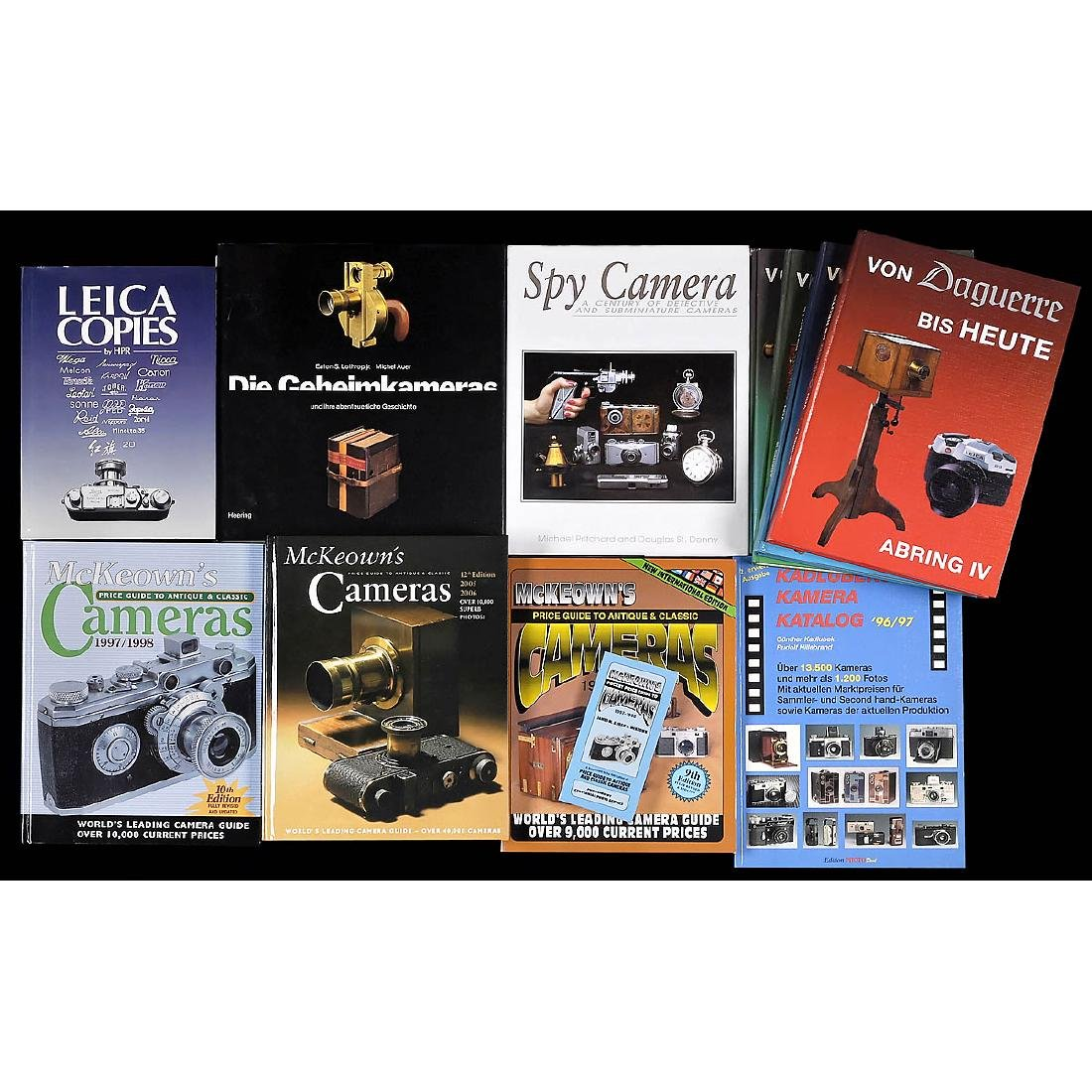 Camera Collector's Literature and Catalogs