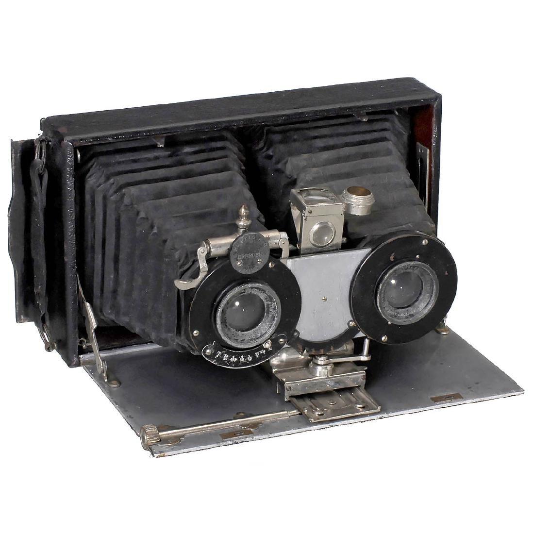 Hüttig Ideal Stereo 9 x 18, 1907
