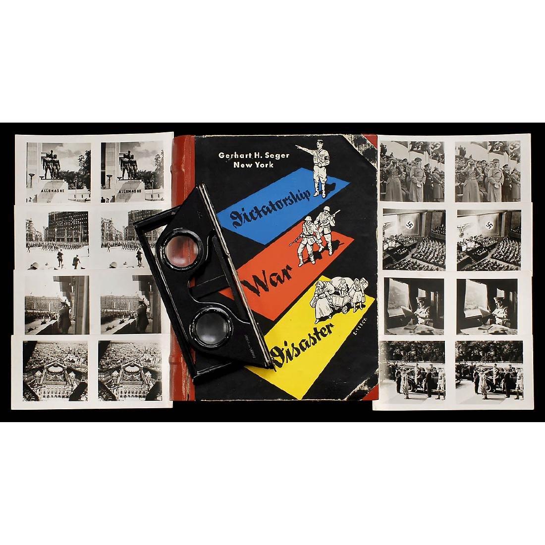 "Boxed Raumbild Set ""Dictatorship - War - Disaster"","
