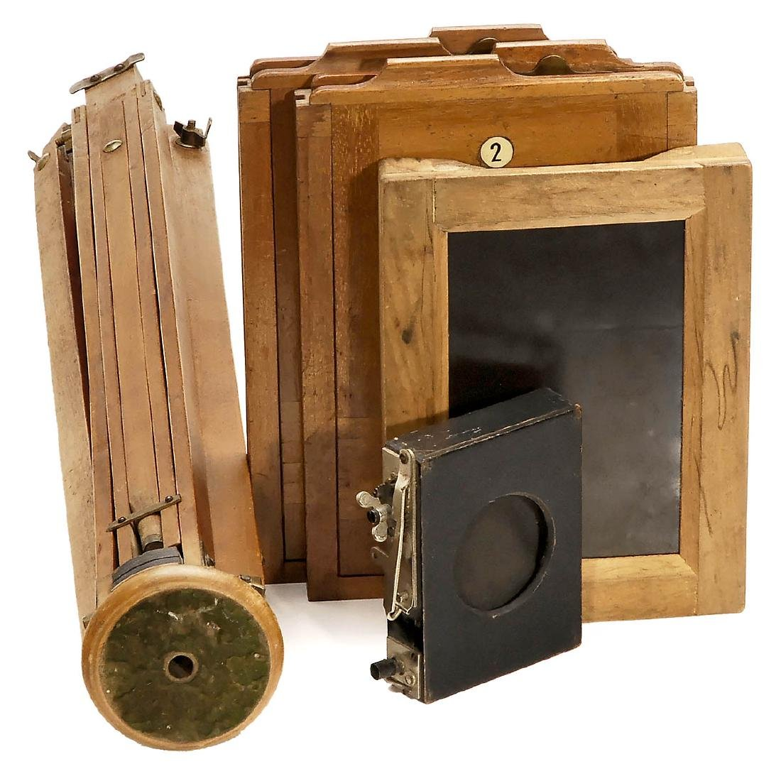 2 Field Cameras (13 x 18 cm and 24 x 30 cm) - 2