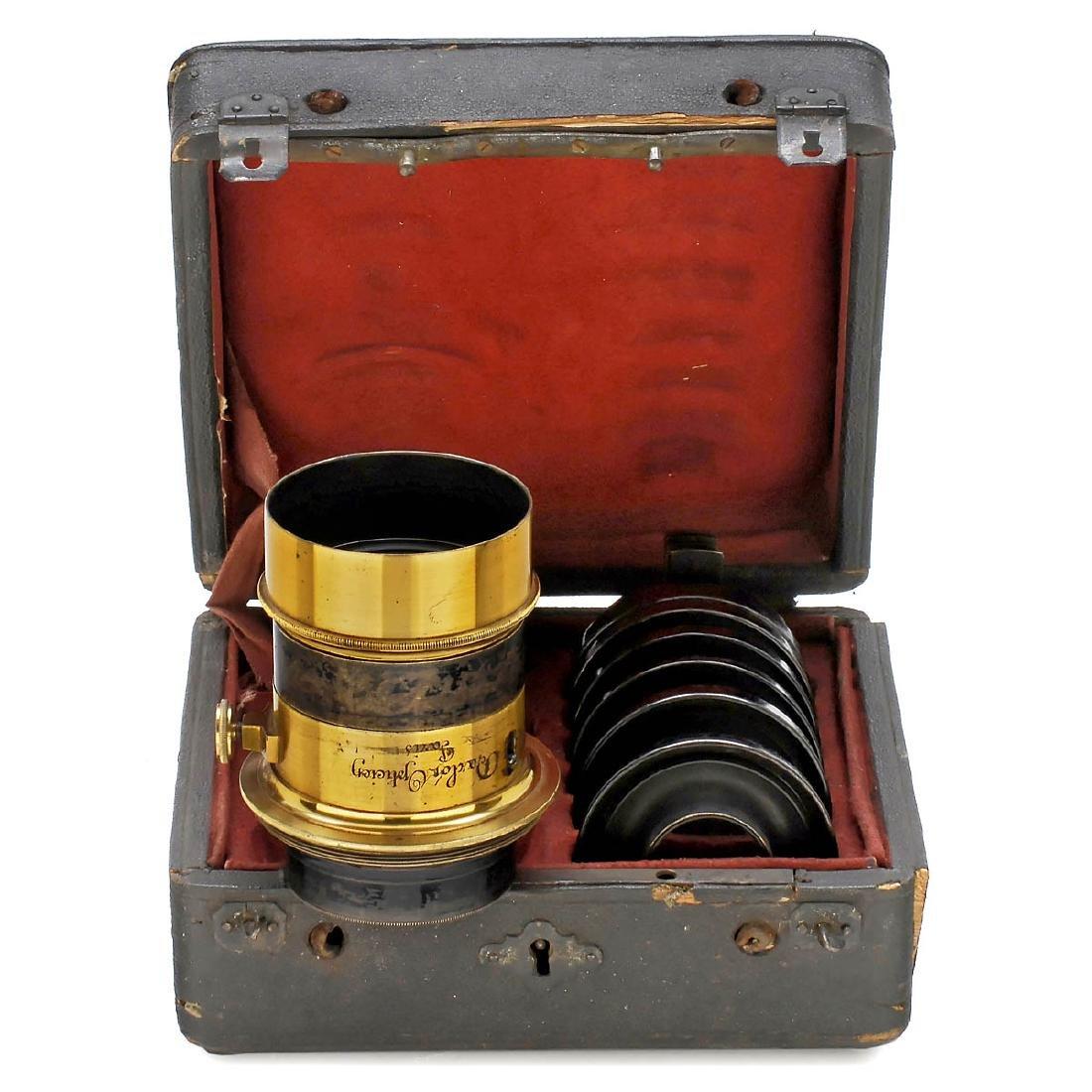 2 Brass Lenses by Darlot