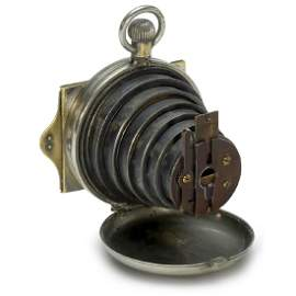 "Lancaster's Patent Watch Camera, ""Men's Model"", c. 1886"