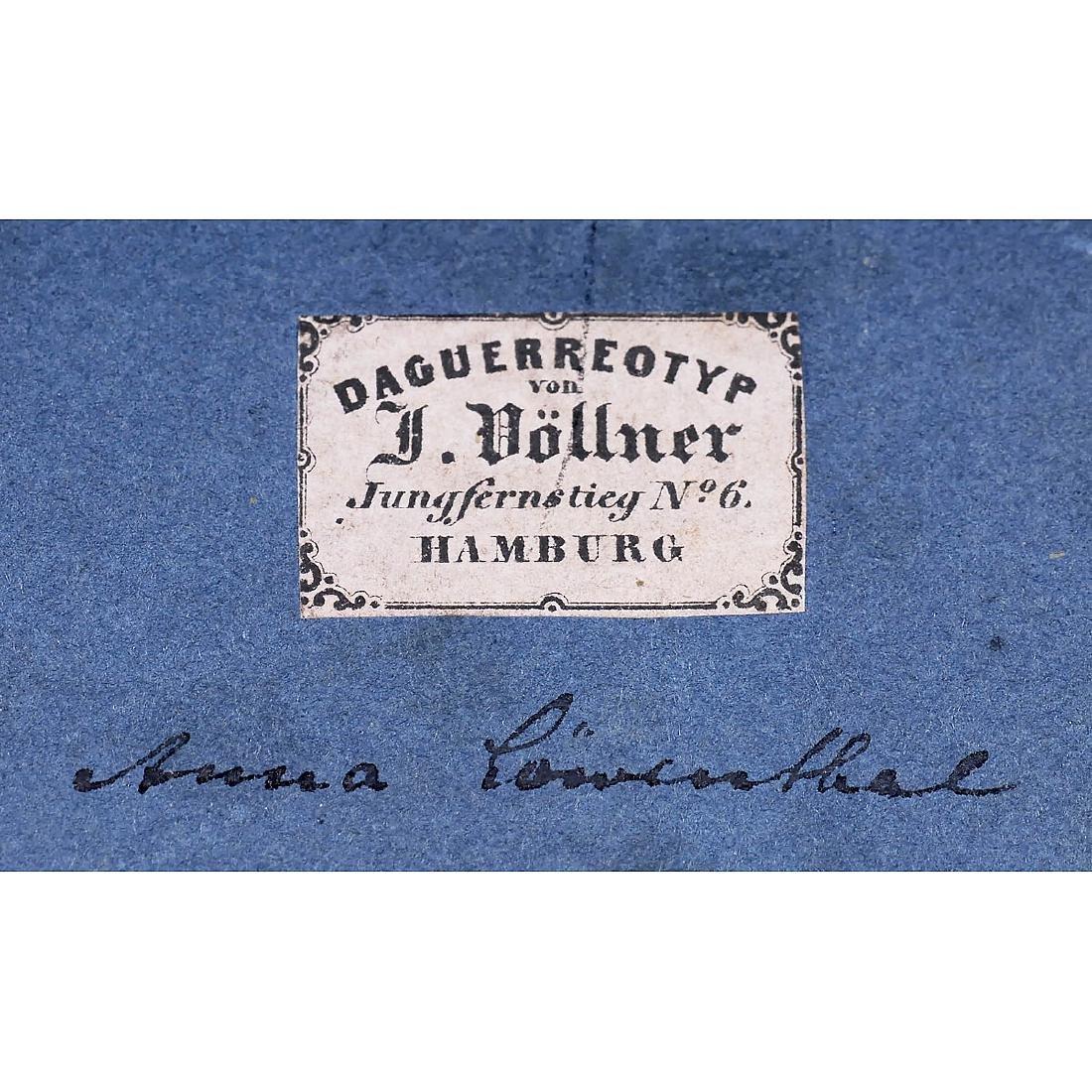 Daguerreotype by Johann Anton Völlner, Hamburg, 1851 - 2