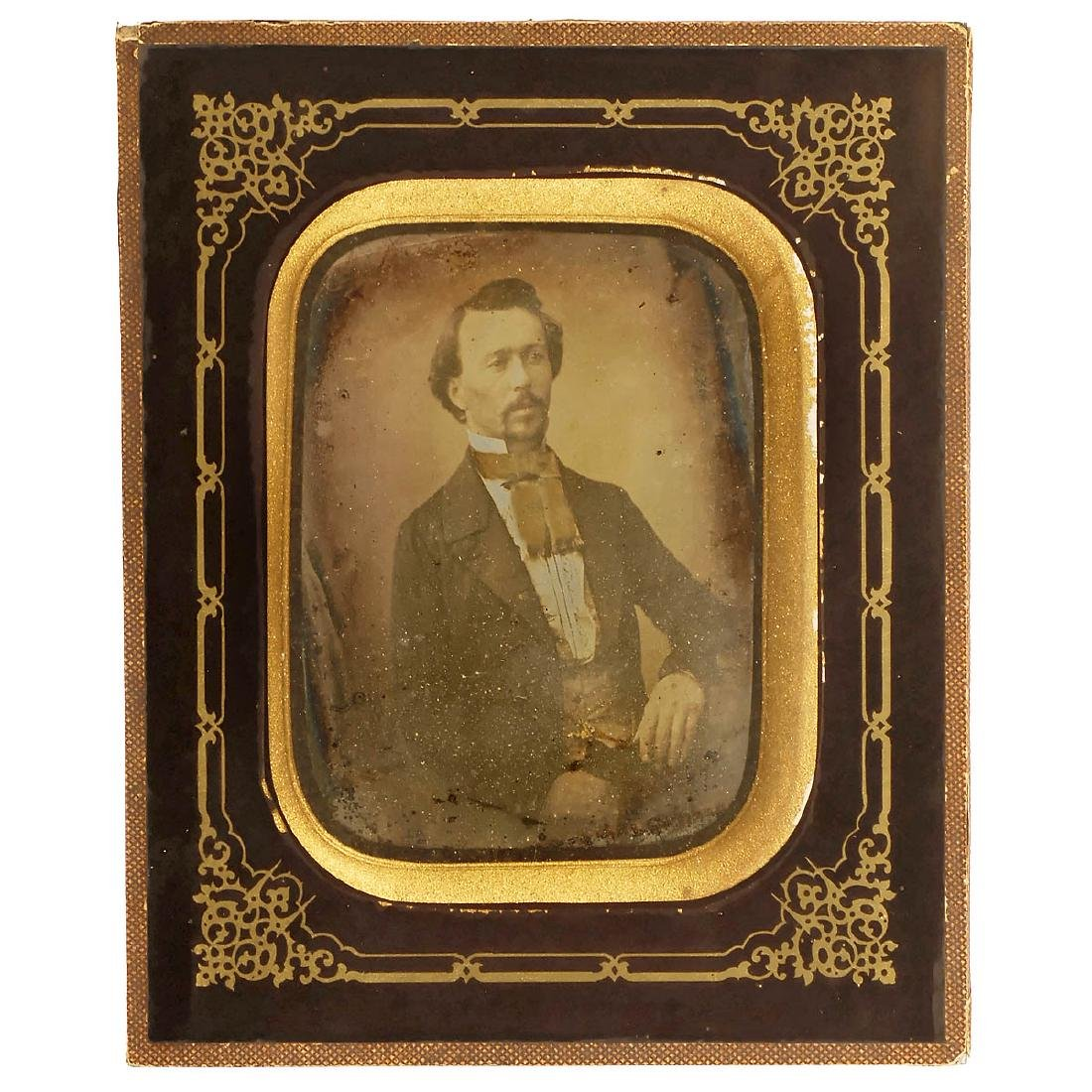 Daguerreotype by Chabrol, Lyon, c. 1845-50