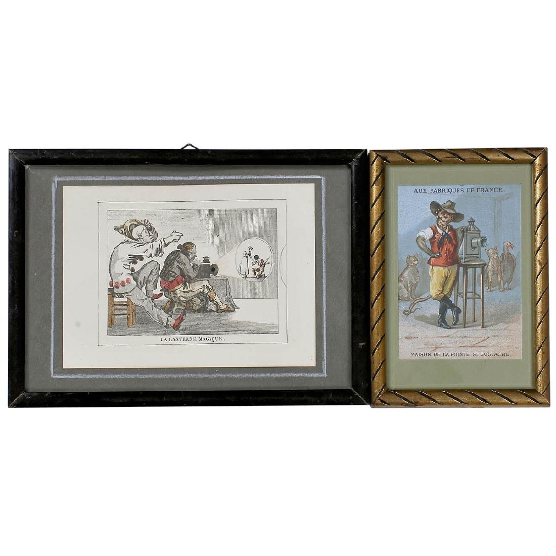"2 ""Magic Lantern"" Prints"