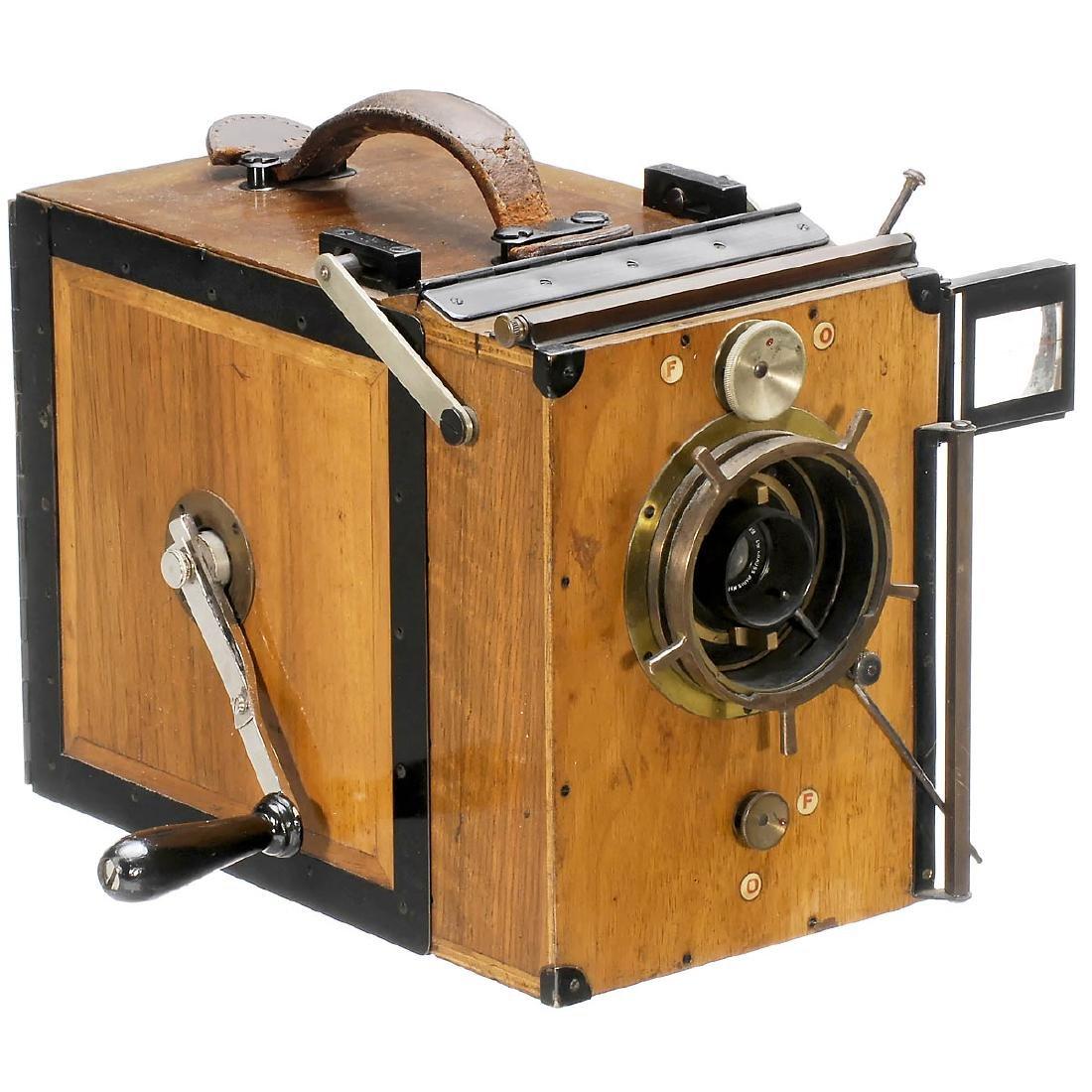 """35mm Movie Camera """"Debrie Interview"""", c. 1924"""