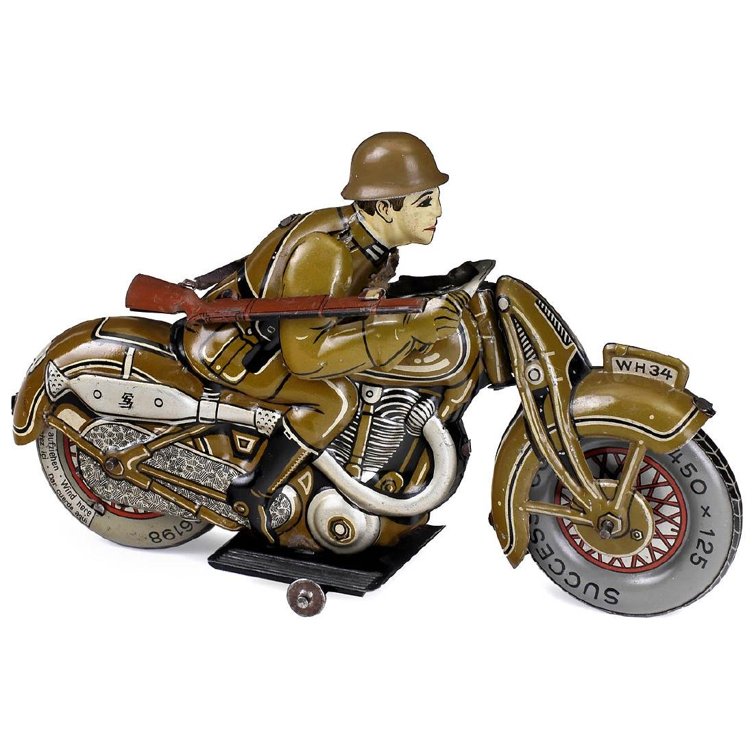 Military Motorcycle WH34 by Saalheimer & Strauss, with