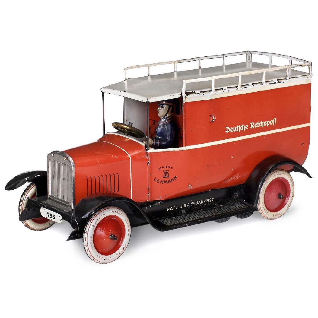 """Lehmann EPL 786 """"Deutsche Reichspost"""" Mail Truck, c."""