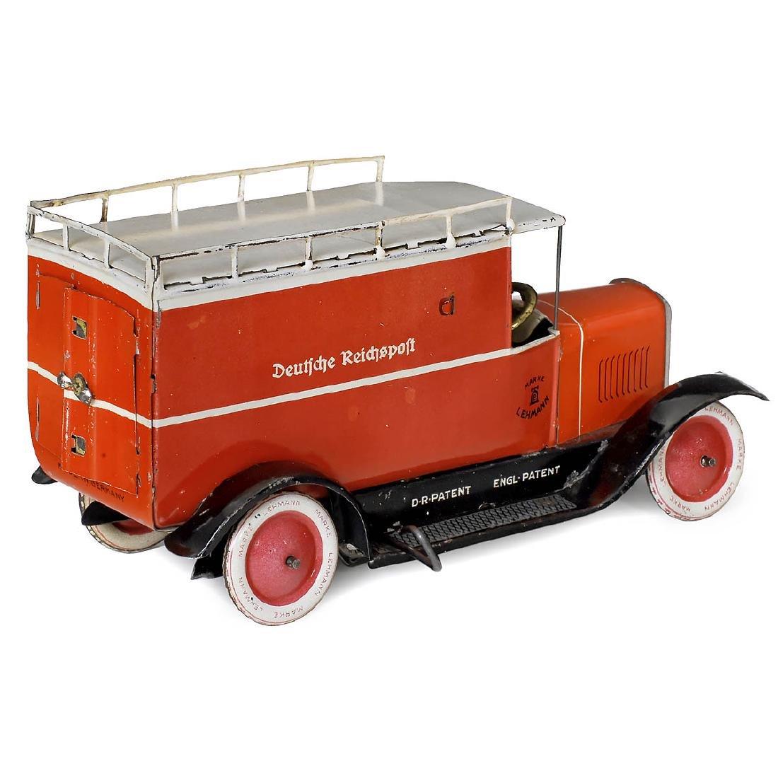 """Lehmann EPL 786 """"Deutsche Reichspost"""" Mail Truck, c. - 2"""