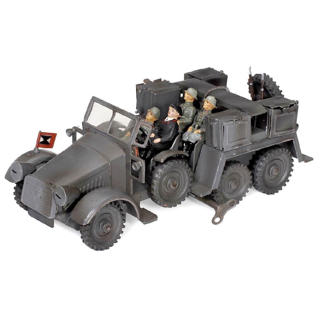 Hausser (Elastolin) WWII Krupp-Protze Truck No. 730, c.