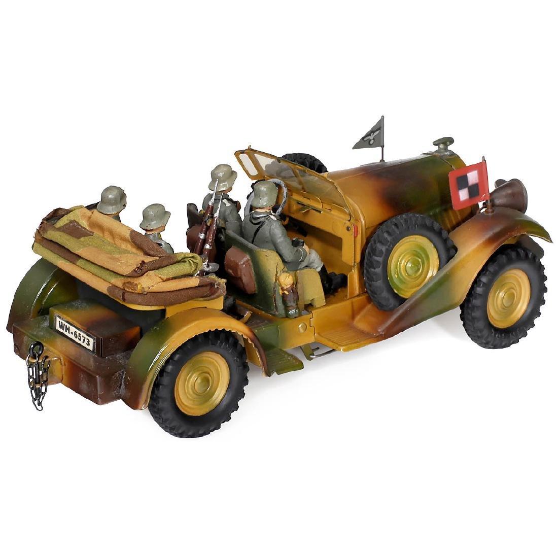 Lineol Kübelwagen (Bucket Car) WH-6573, c. 1935 - 2