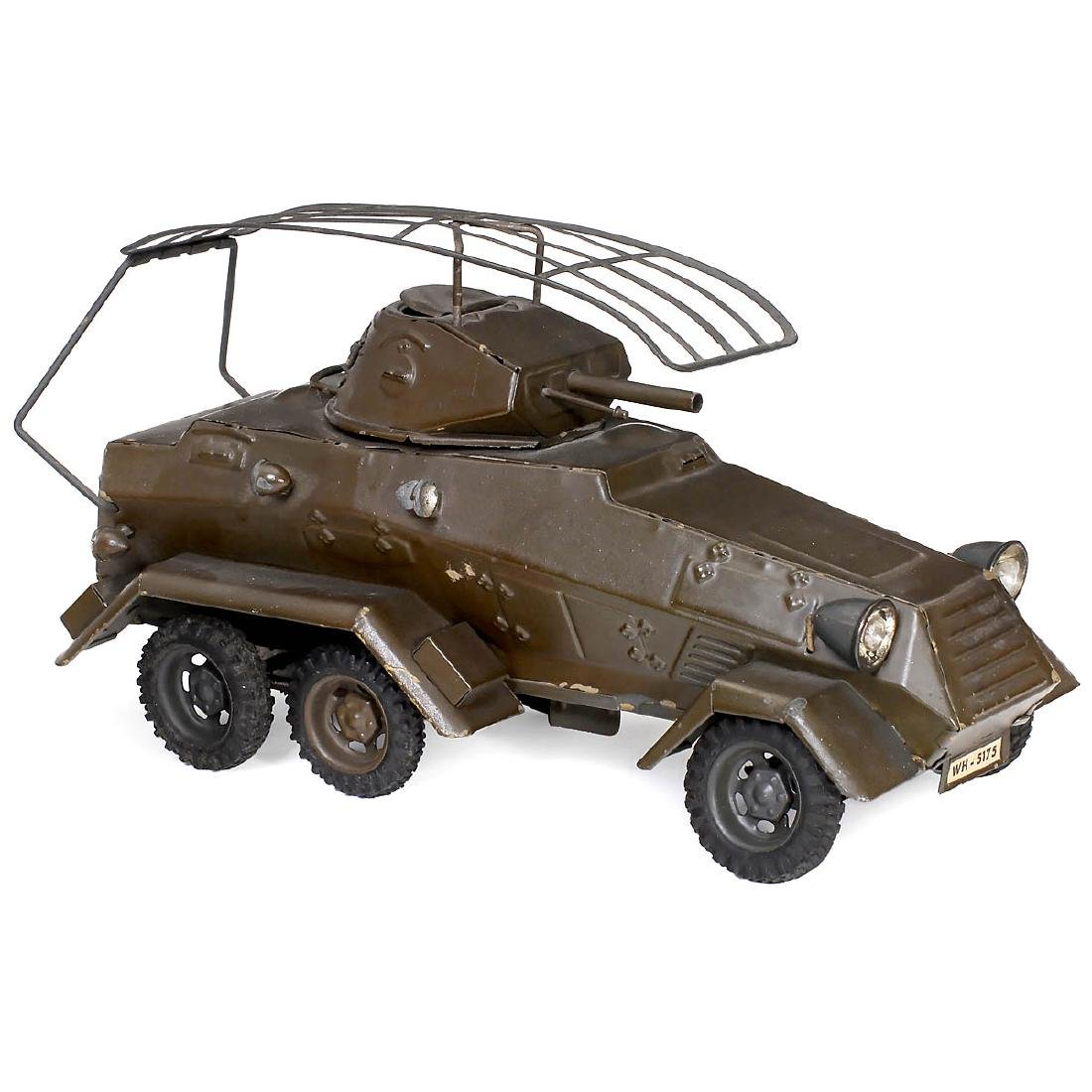 Lineol Armored Scout Car WH-5175, c. 1935