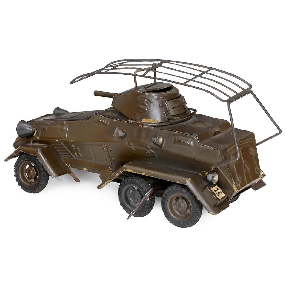 Lineol Armored Scout Car WH-5175, c. 1935 - 2