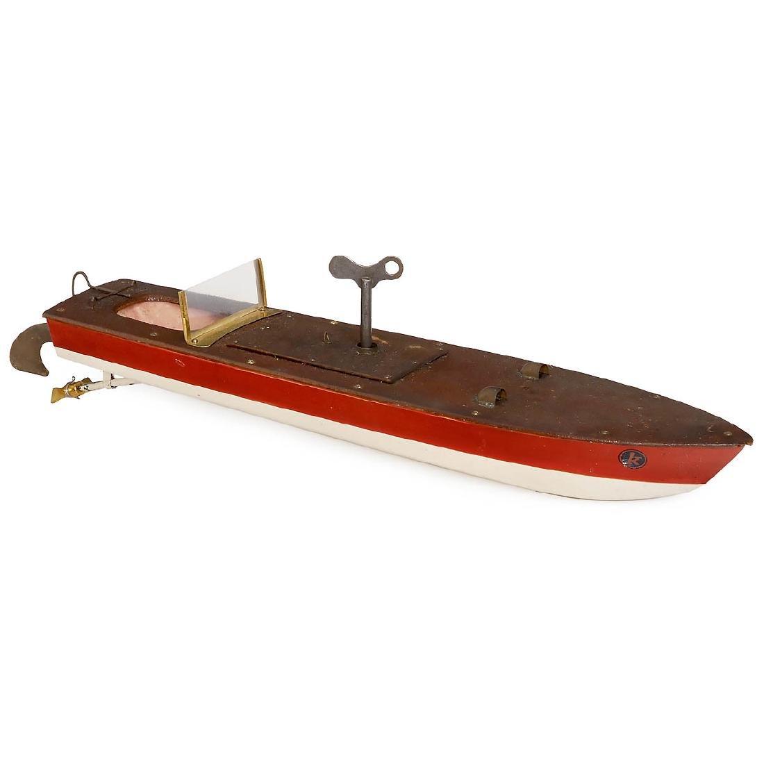 Märklin Racing Boat for the French Market, c. 1935
