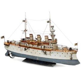 Fürst Bismarck Large Battle Ship by Bing, c. 1909