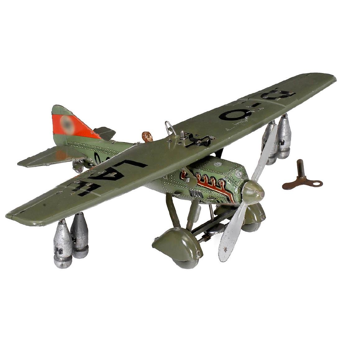 Tippco D-Olaf Bomber Airplane, c. 1938