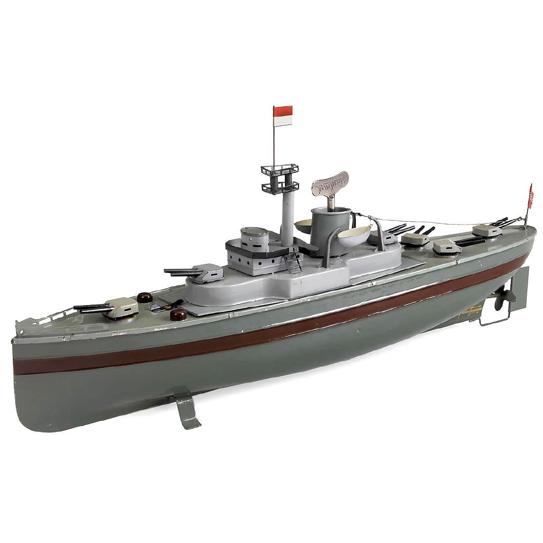 Fleischmann No. 527 Battle Cruiser, 1936