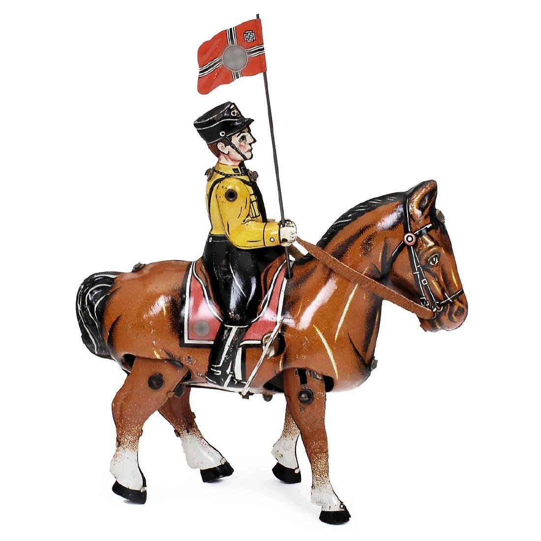 Horseback SA Man with Standard, c. 1935