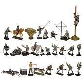 26 Elastolin Figures c 1935