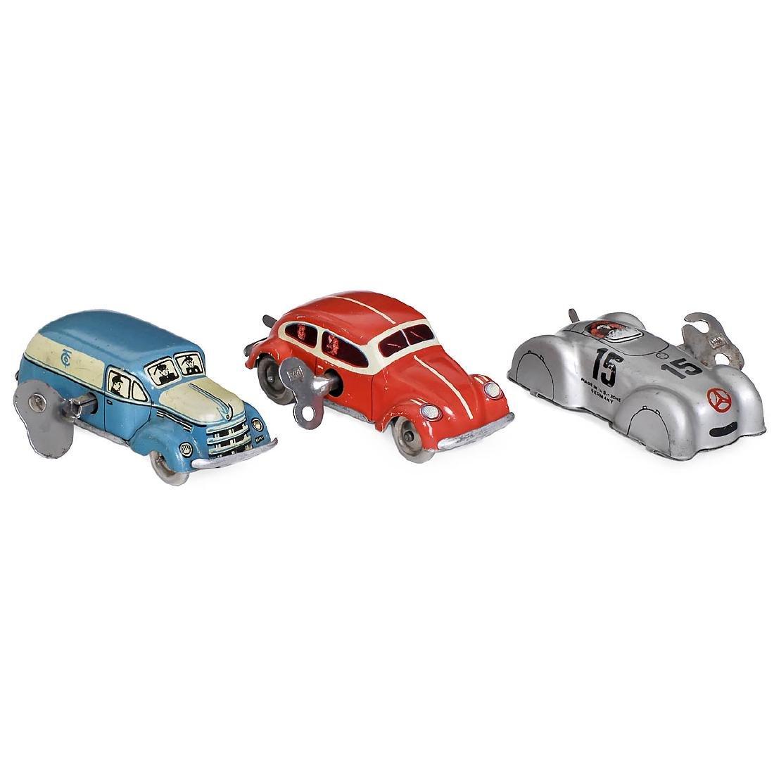 3 Tippco Cars, c. 1950