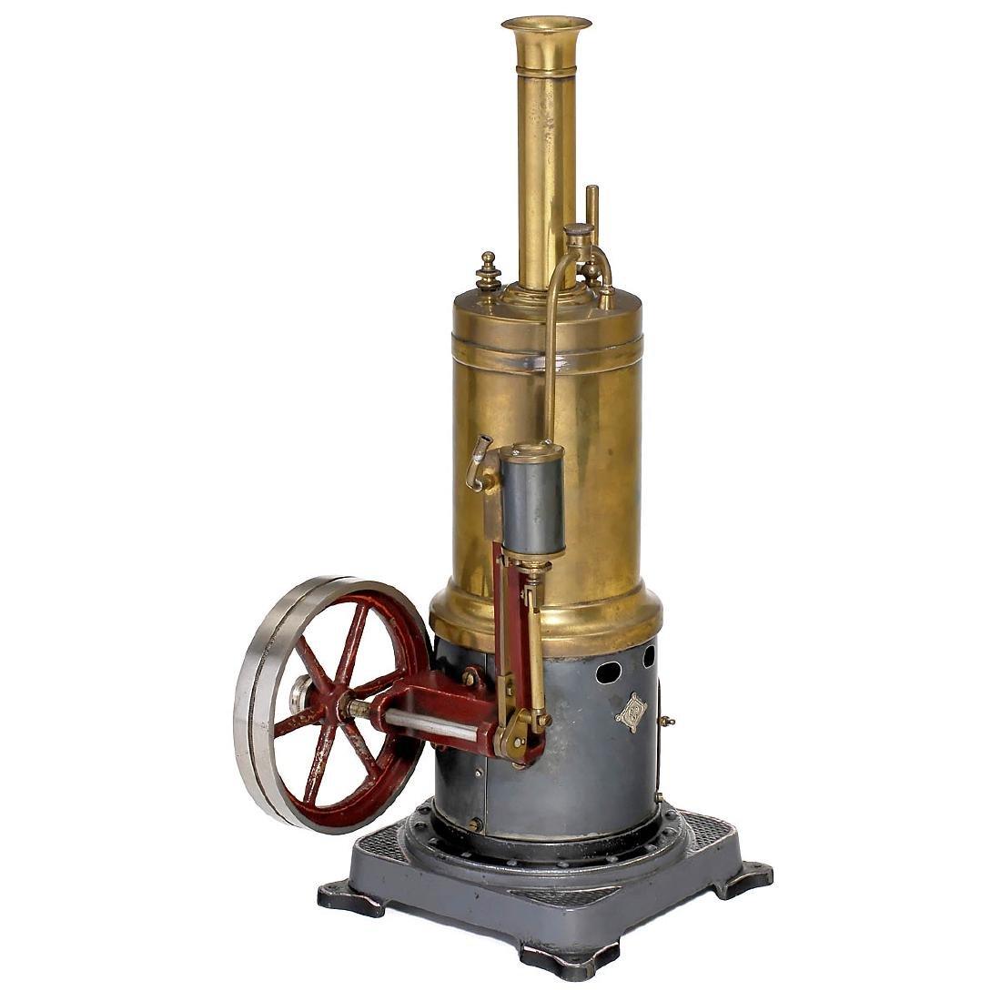 Bing Vertical Steam Engine No. 130/332, c. 1912