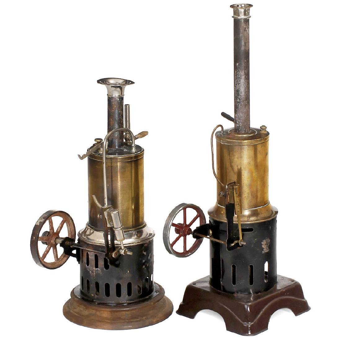 2 Toy Steam Engines, c. 1925