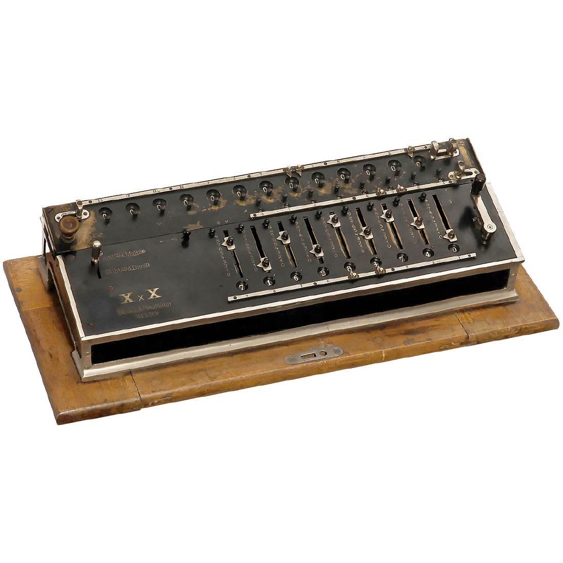 XxX (X multiplied by X) Calculating Machine, 1906