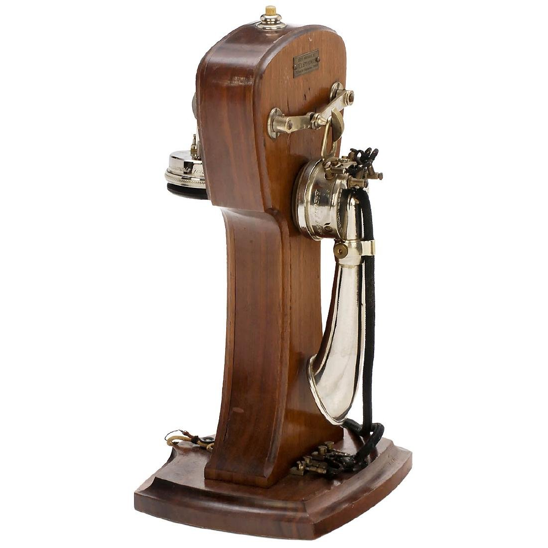 "French Violin-Form Telephone by ""S.I.T."", c. 1919"