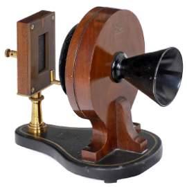 Bell & Tainter's Radiophone Transmitter, c. 1882