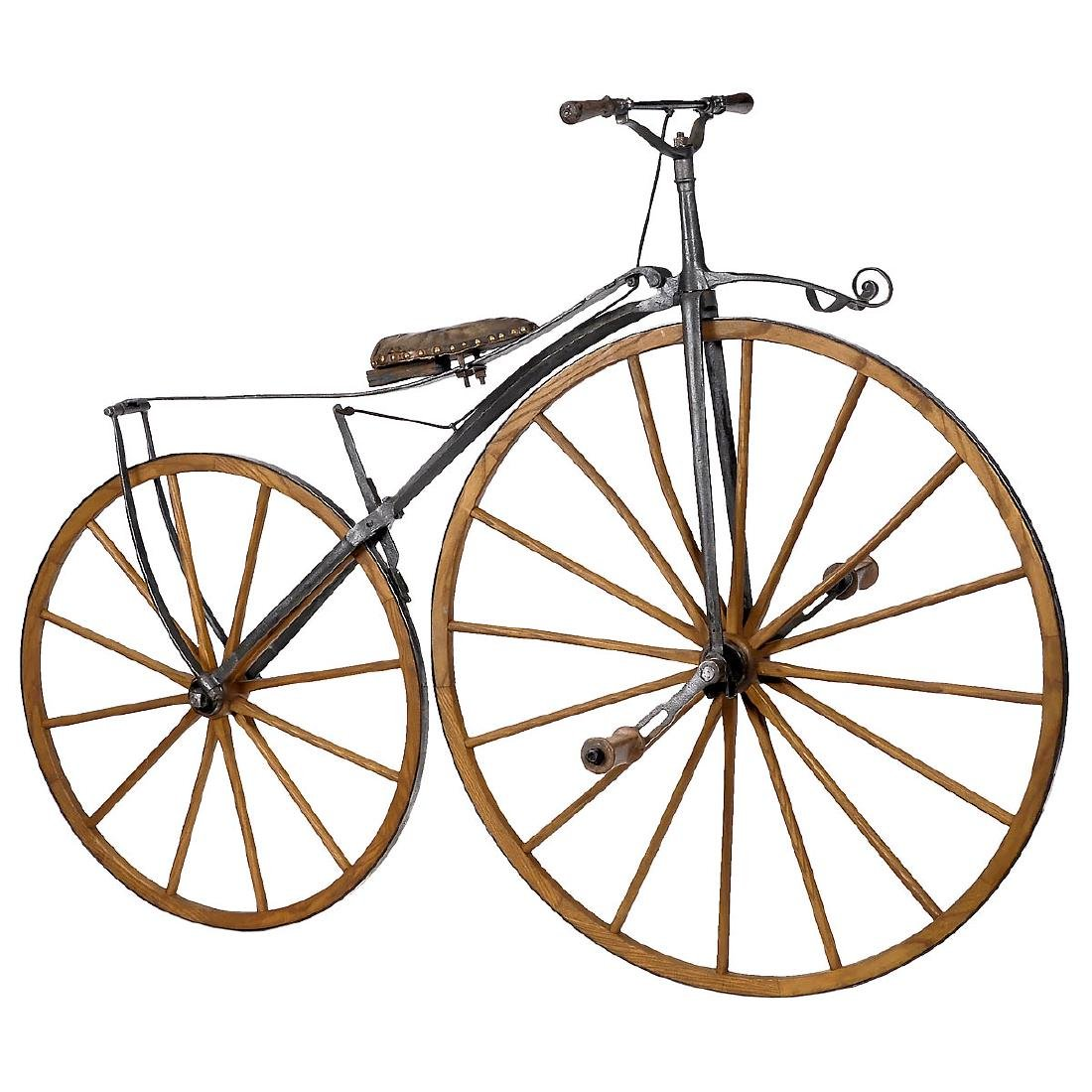 Boneshaker Bicycle, c. 1868