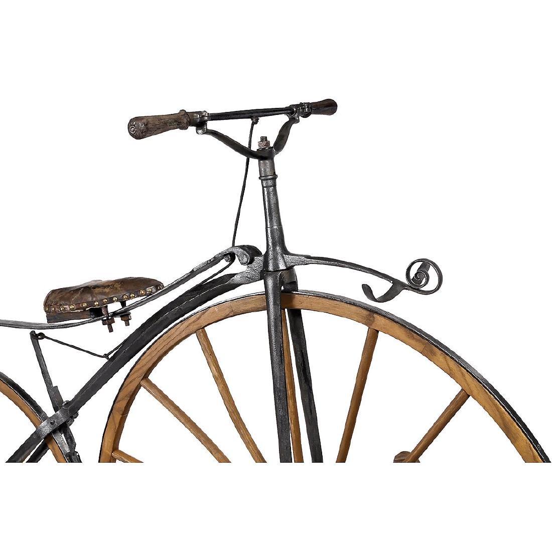 Boneshaker Bicycle, c. 1868 - 2