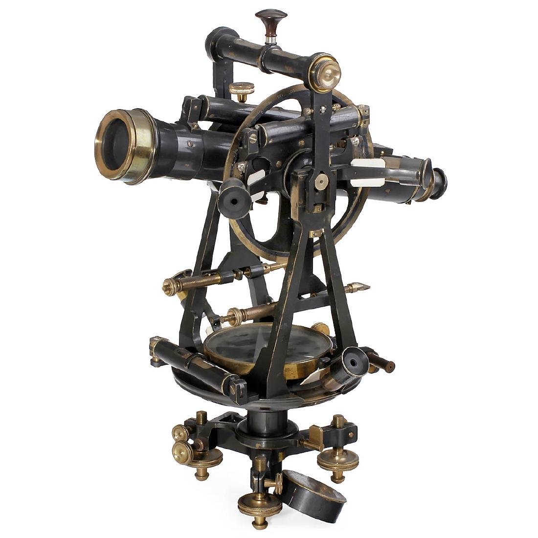 Large Italian Precision Theodolite by Salmoiraghi, c.