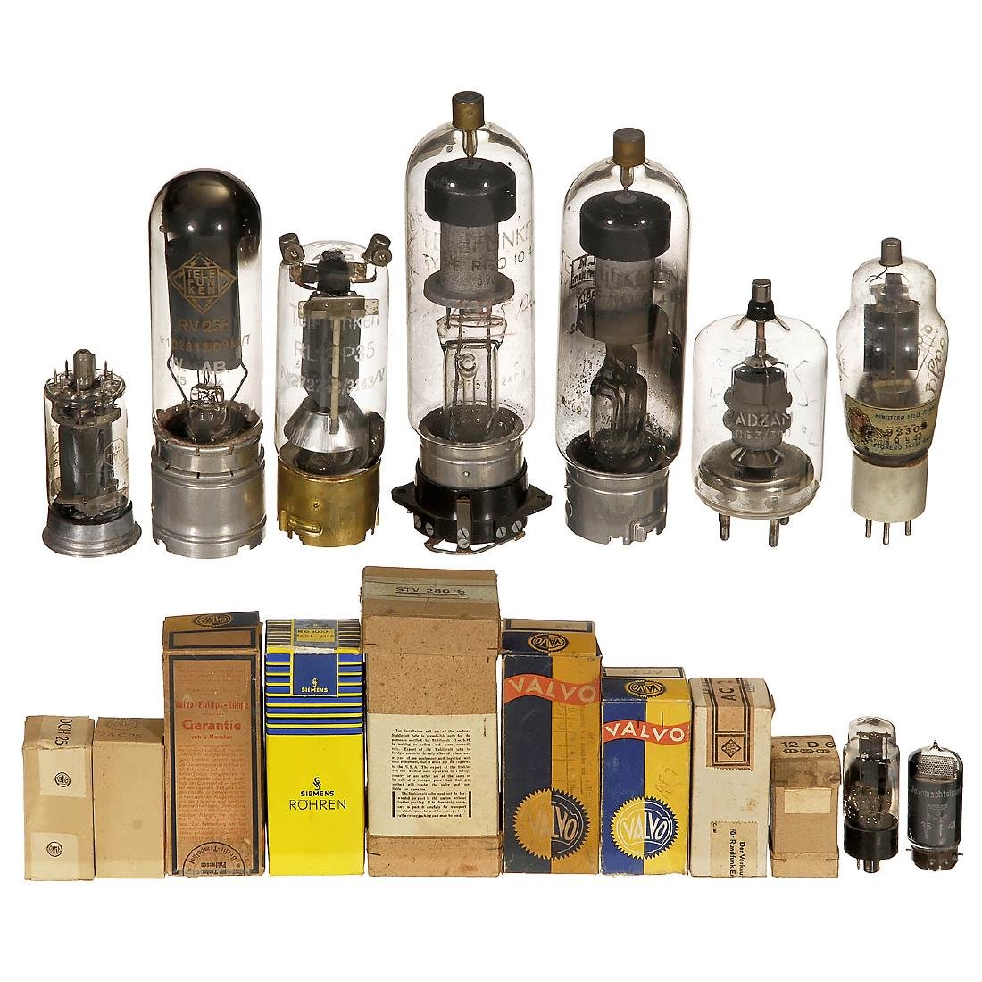 Collection of Electronic Tubes