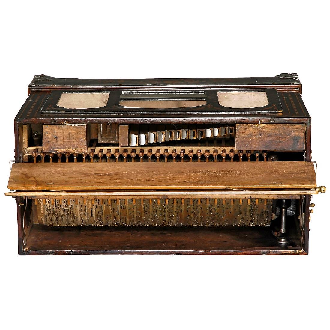 Early Street Barrel Organ, c. 1890 - 3