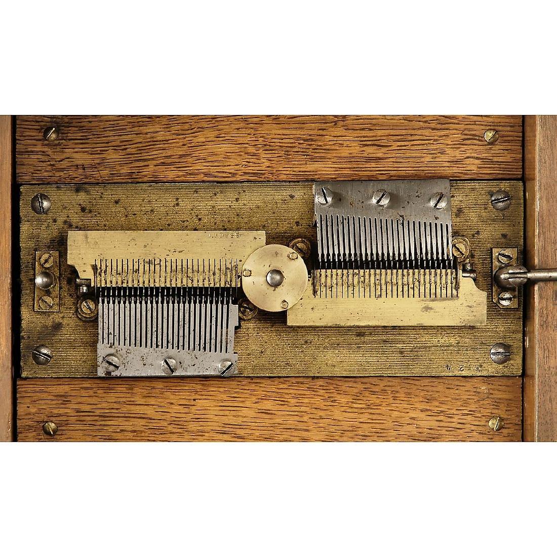 Symphonion 7 3/8-inch Disc Musical Box, c. 1898 - 2