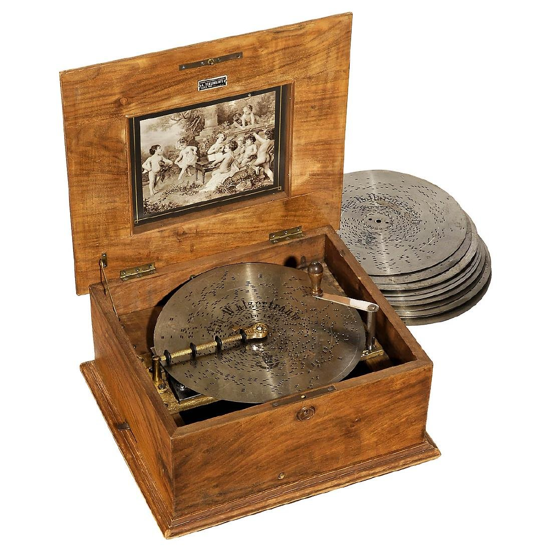 Polyphon No. 42D Disc Musical Box, c. 1910