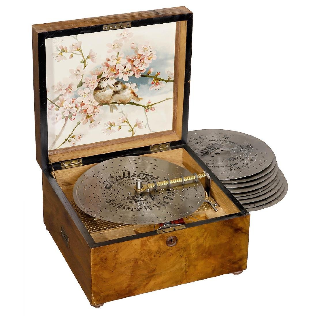 Kalliope No. 50G Disc Musical Box, c. 1900