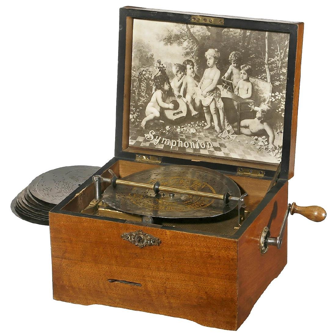 Symphonion Disc Musical Box, c. 1900
