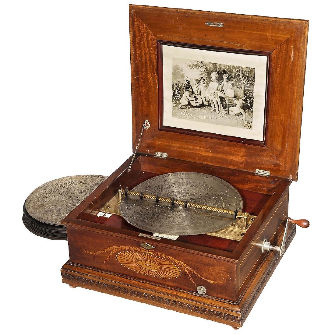Imperial Symphonion Disc Music Box No. 343, c. 1895
