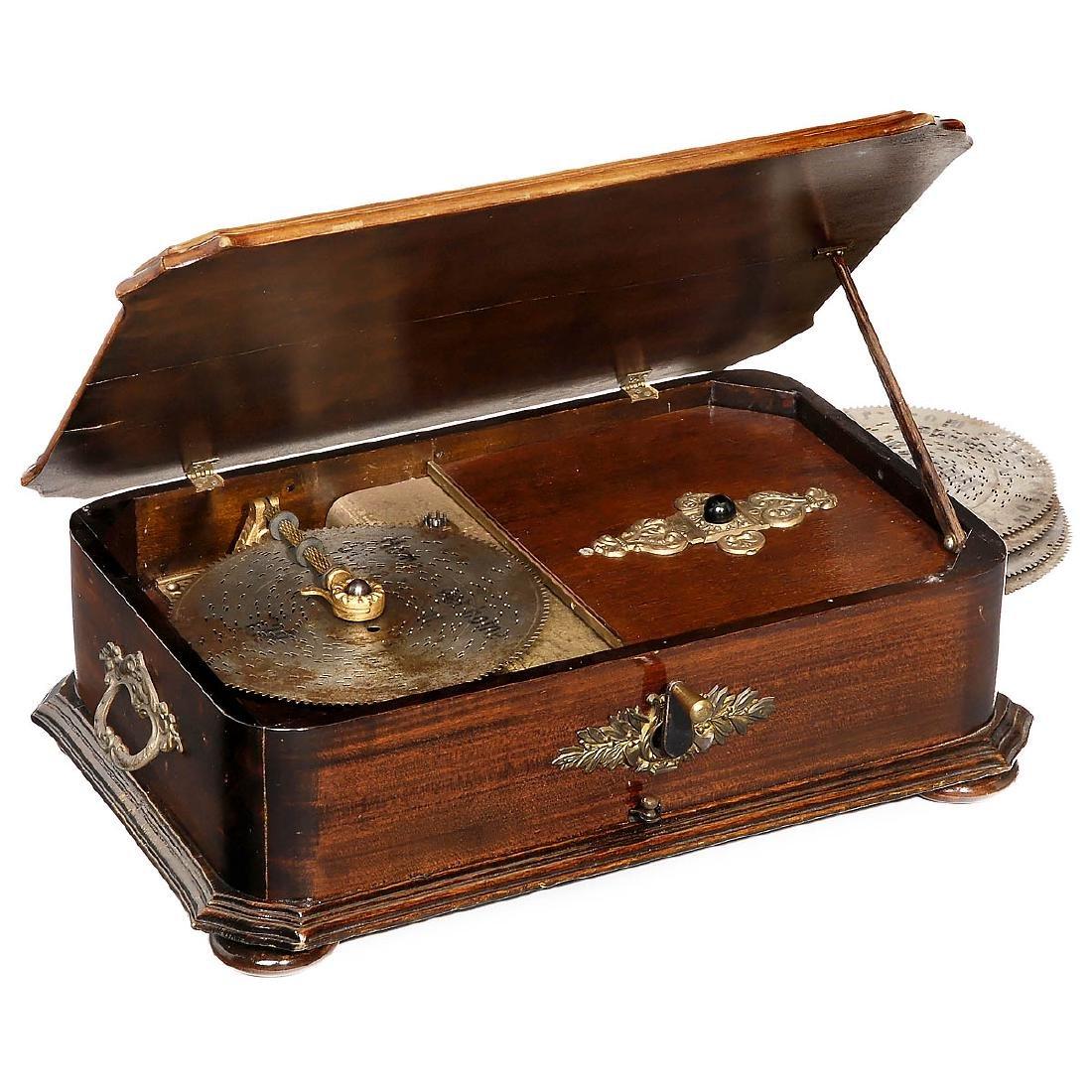 Kalliope Disc Musical Box, c. 1900
