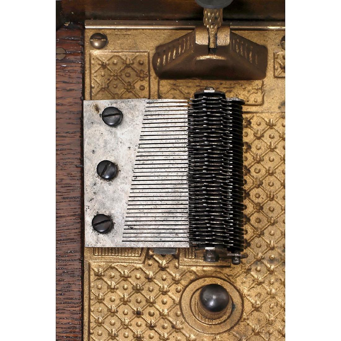 Kalliope Disc Musical Box, c. 1900 - 2