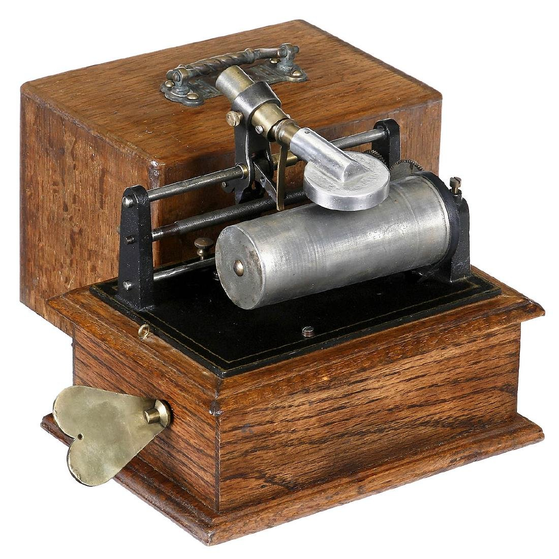 2 Cylinder Phonographs, c. 1900