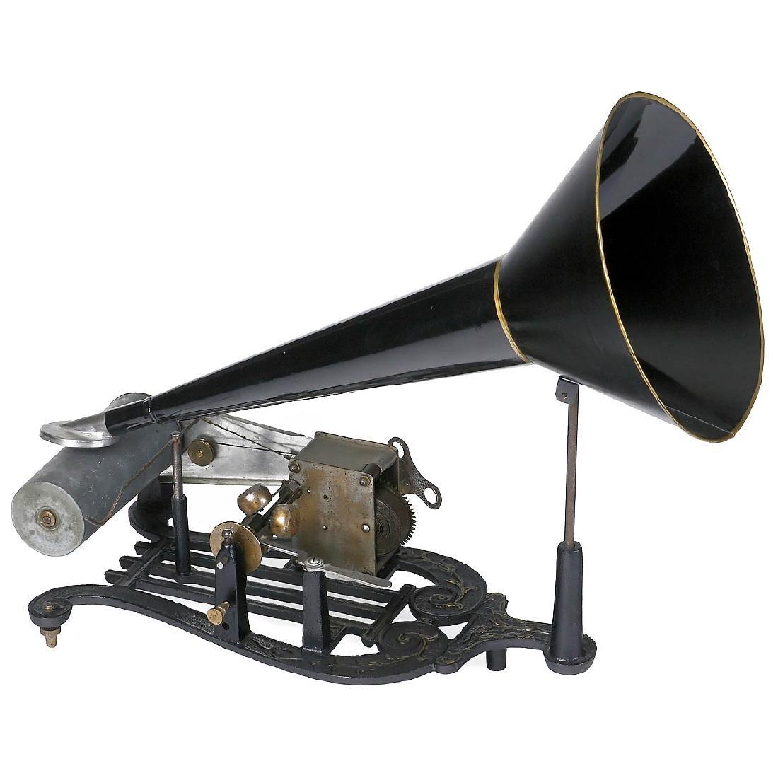 2 Cylinder Phonographs, c. 1900 - 2