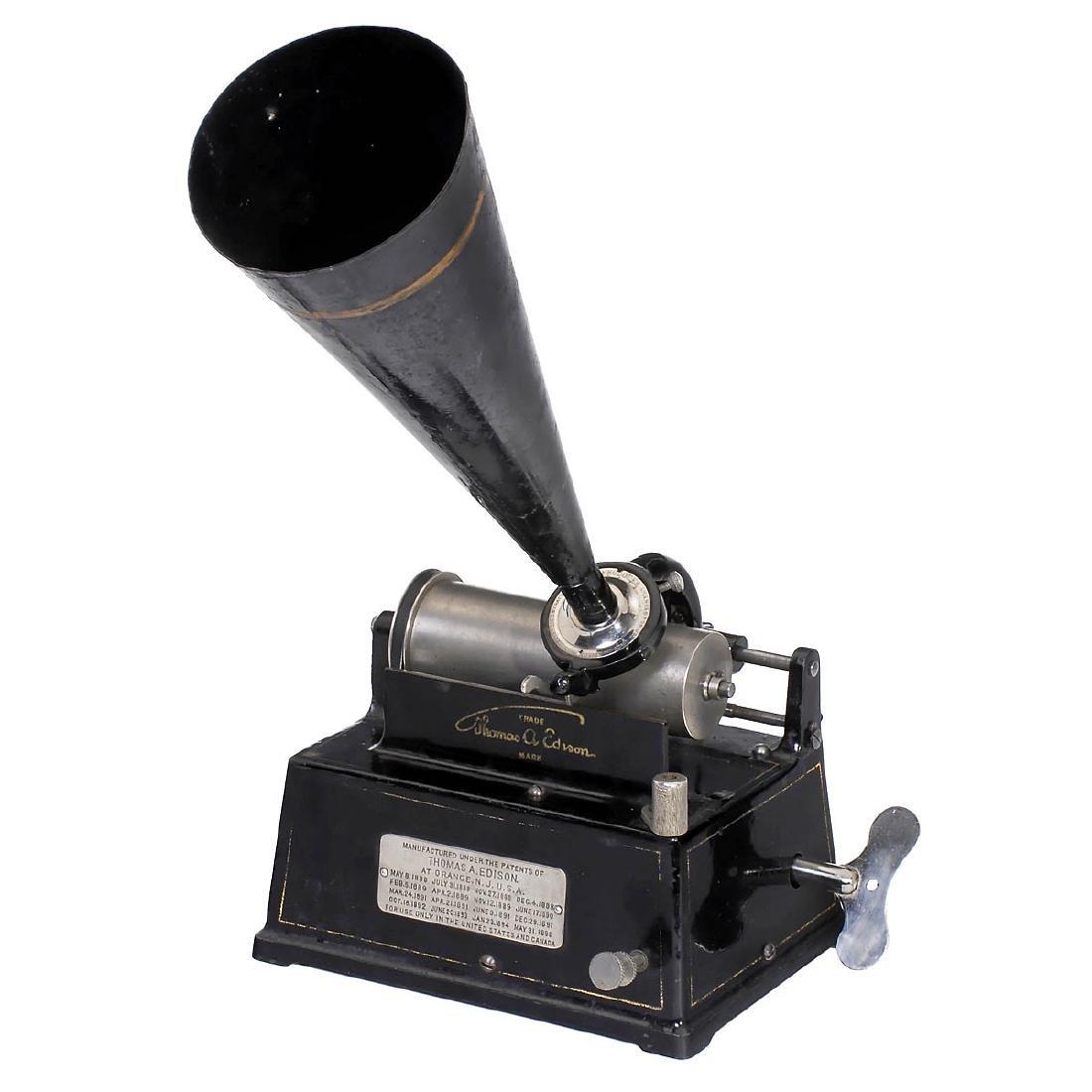 Edison Gem Model A Phonograph, c. 1900