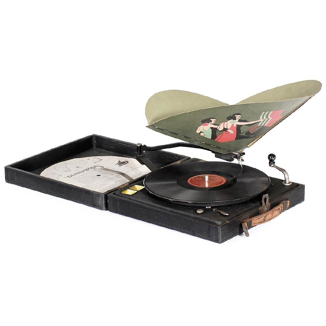 Guiniphone Portable Gramophone, c. 1930