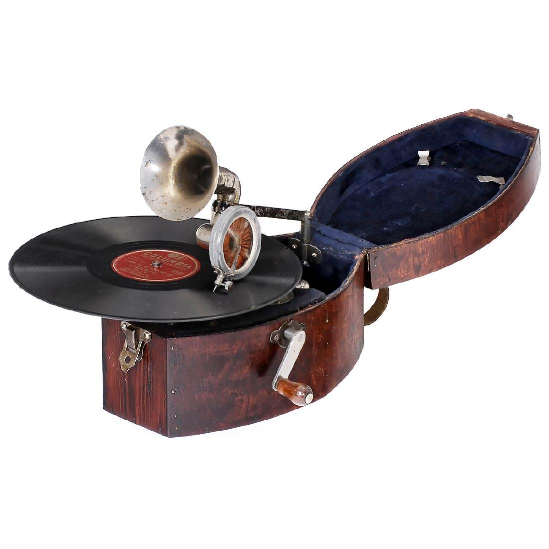 Small Portable Gramophone, c. 1930