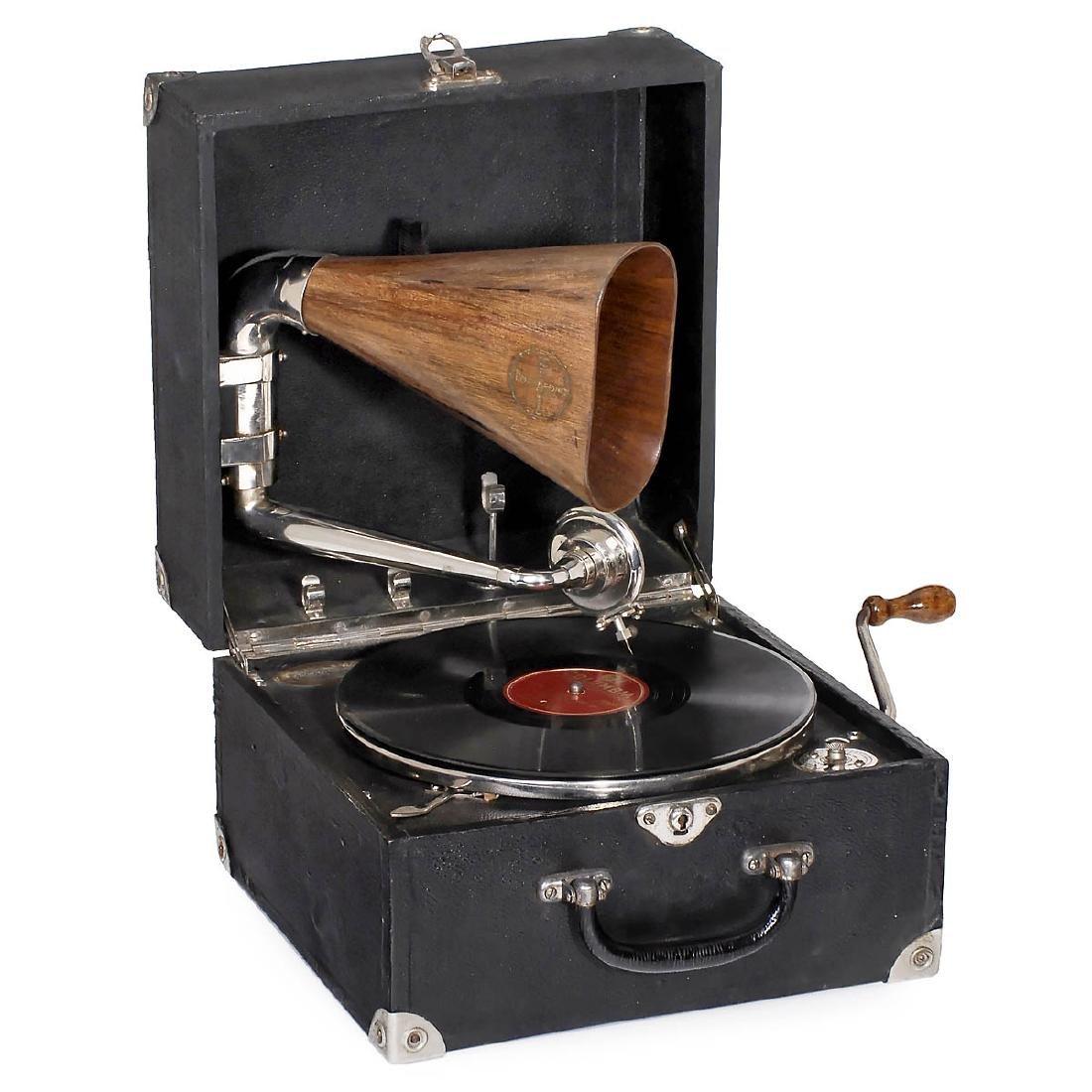 Portafono Duplex Gramophone, c. 1920