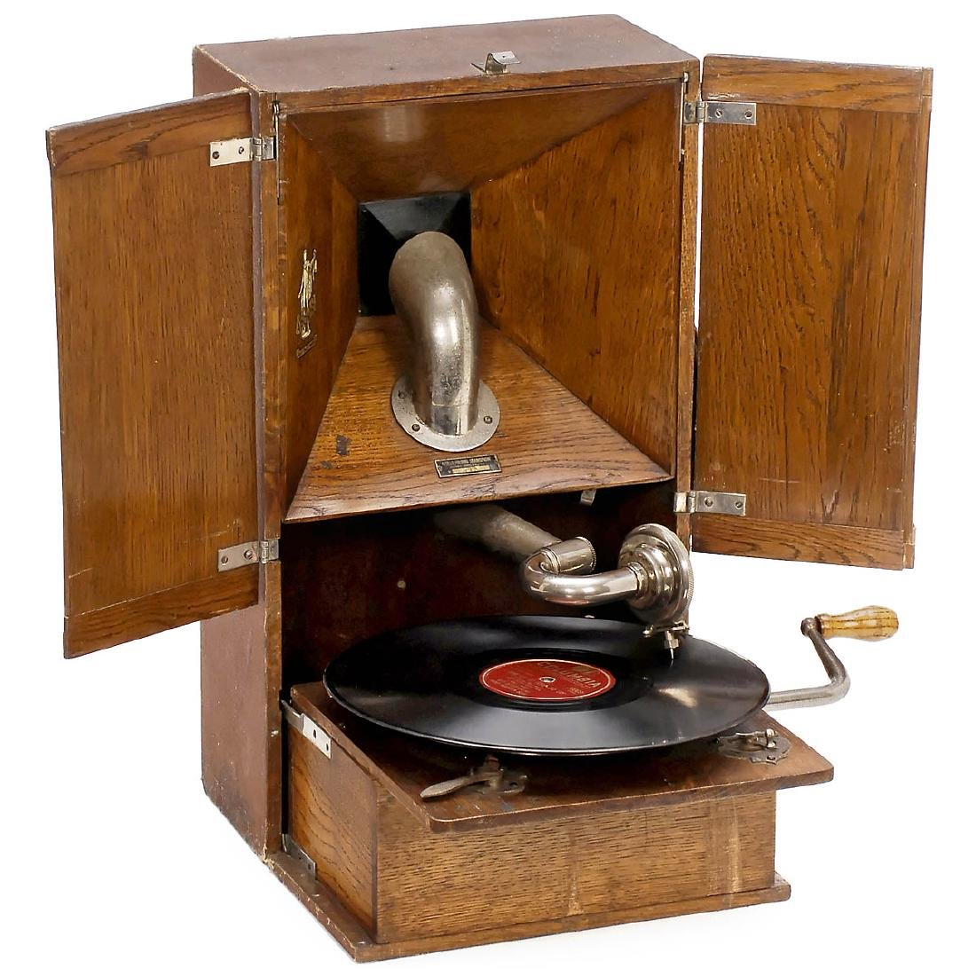 Apollo Folding Gramophone, 1922