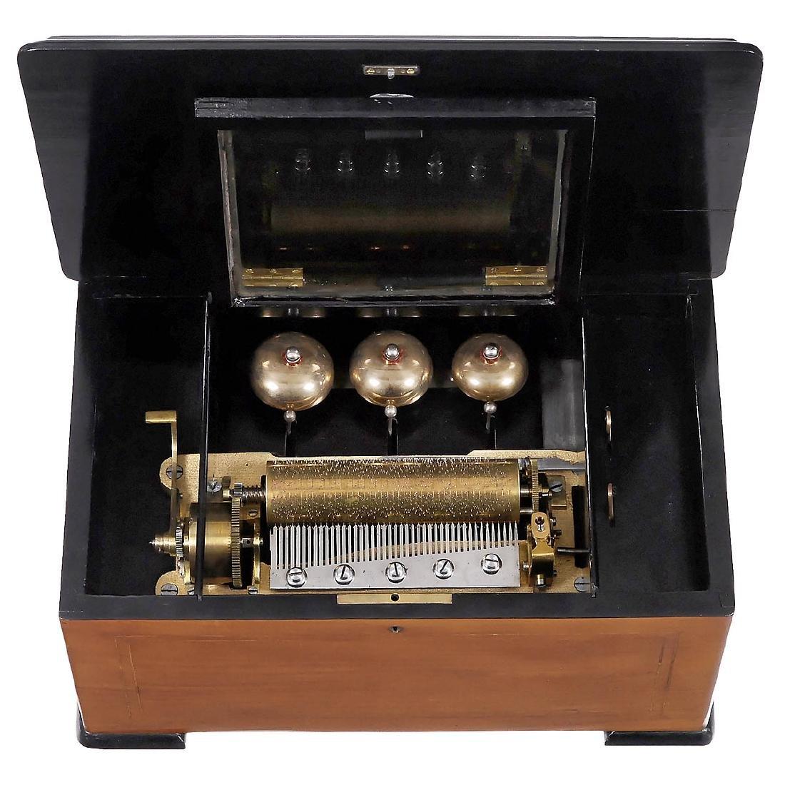3-Bell Musical Box, c. 1890