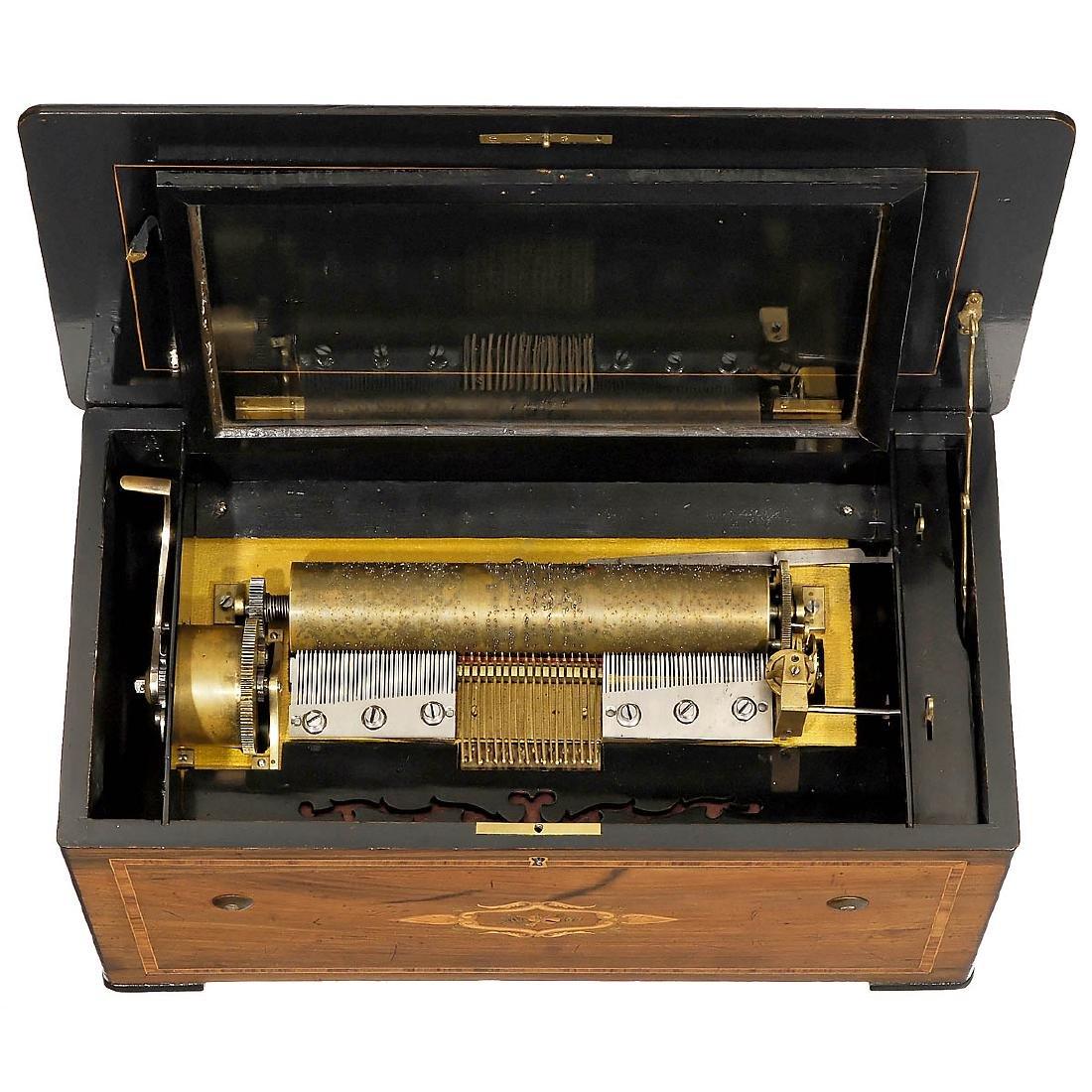 Organ Musical Box, c. 1870